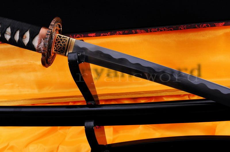 High Quality 1095 Carbon Steel Japanese Maru Samurai Sword Katana