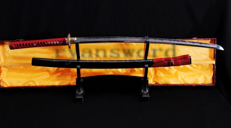 High Quality Shihozume Clay Tempered Abrasive Japanese Samurai Sword Katana