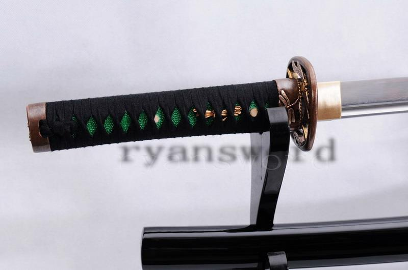 Handmade Maru Folded Steel Sharp Japanese Samurai Wakizashi Sword