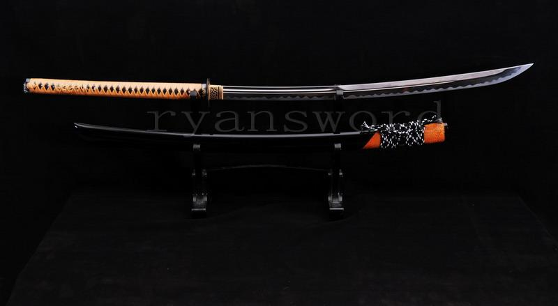 High Quality 1095 Carbon Steel Maru Japanese Samurai Naginata Sword