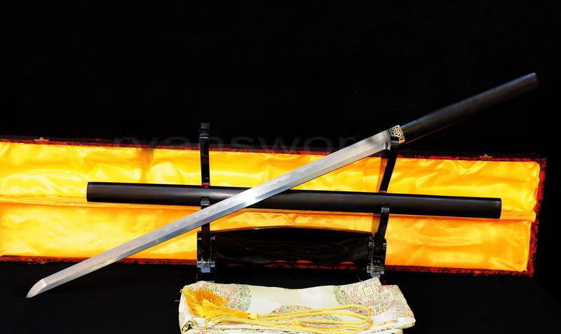 Hand Forged 1095 Carbon Steel Folded Steel Japanese Samurai Ninja Sword
