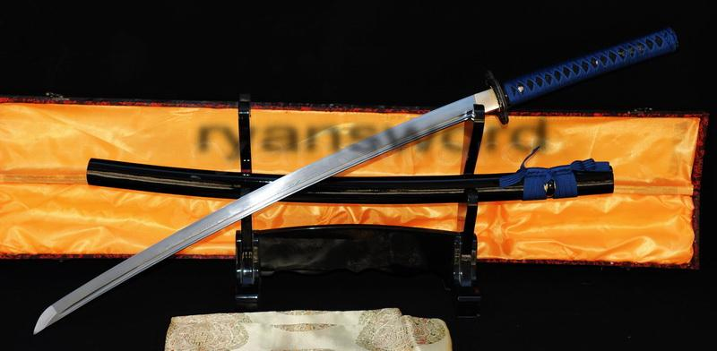 Hand Forged Damascus Folded Steel Japanese Samurai Katana Sword