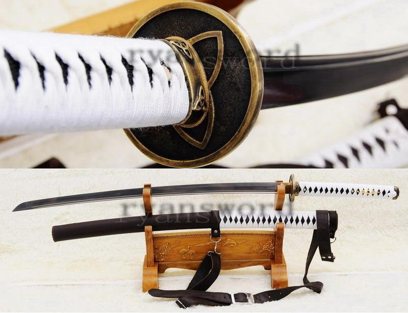 Full Functional Real Sharp Handmade Walking Dead Sword-Michonne'S Sword Katana