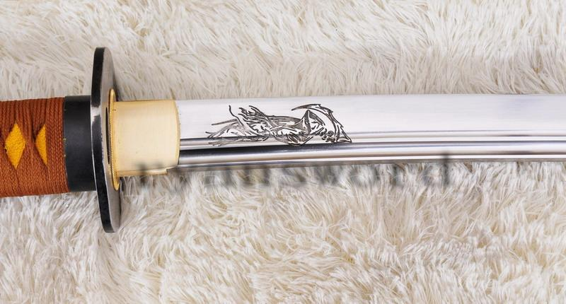 High Quality High Carbon Steel Japanese Samurai Katana The Grim Reaper Sword