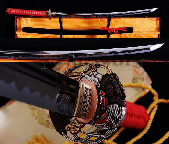 High Quality 1095 Carbon Steel Japanese Samurai Maru Sword Katana