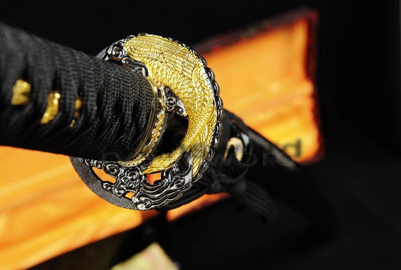 Damascus Folded Steel Hand Made Japanese Samurai Katana Sword