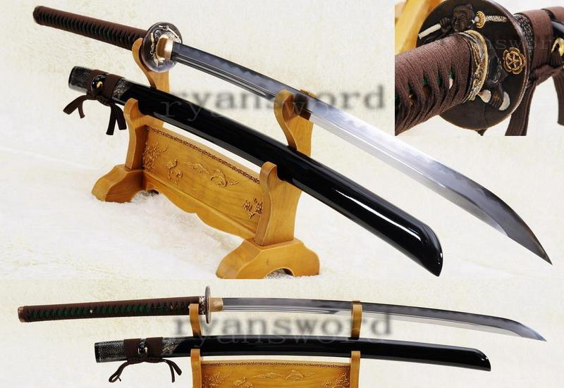 High Quality Clay Tempered Abrasive Japanese Sword Naginata