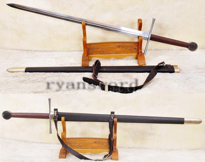 High Quality Handmade Strong Functional High Carbon Steel Western Sword