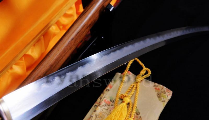 High Quality Shihuzume Clay Tempered Abrasive Japanese Samurai Katana Sword