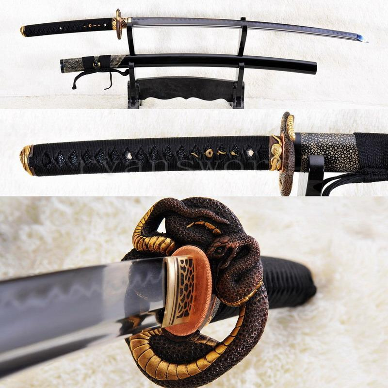 High Quality Shihozume Clay Tempered Abrasive Japanese Sword Samurai Katana