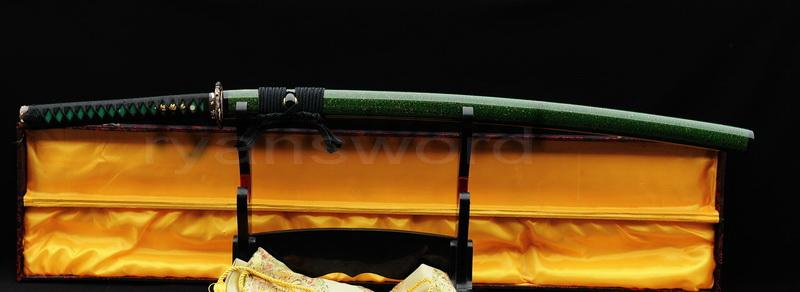 High Quality 1095carbon Steel Clay Tempered Japanese Katana Sword
