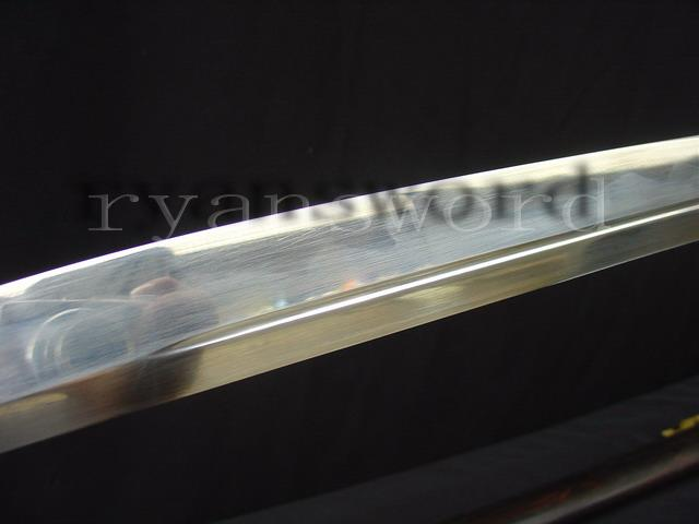 High Quality 1095 Carbon Steel Clay Tempered Japanese Samurai Naginata Sword